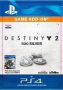 ESD SK PS4 - 500 Destiny 2 Silver (Kód na stiahnutie) PS4