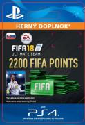 ESD SK PS4 - 2200 FIFA 18 Points Pack (Kód na stiahnutie)