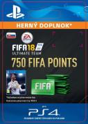 ESD SK PS4 - 750 FIFA 18 Points Pack (Kód na stiahnutie) PS4