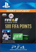 ESD SK PS4 - 500 FIFA 18 Points Pack (Kód na stiahnutie)