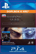 ESD SK PS4 -Middle-earth™: Shadow of War™ Expansion Pass (Kód na stiahnutie) PS4