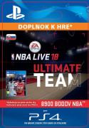 ESD SK PS4 - EA SPORTS™ NBA LIVE 18 ULTIMATE TEAM™ - 8900 NBA POINTS (Kód na stiahnutie)
