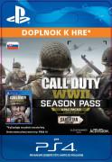 ESD SK PS4 - Call of Duty®: WWII - Season Pass (Av. 03.11.17) (Kód na stiahnutie) PS4