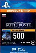 ESD SK PS4 - STAR WARS™ Battlefront™ II: 500 Crystals (Av. 14.11.2017) (Kód na stiahnutie) PS4