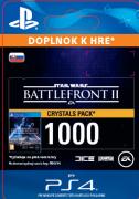 ESD SK PS4 - STAR WARS™ Battlefront™ II: 1000 Crystals  (Av. 14.11.2017) (Kód na stiahnutie) PS4