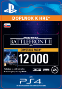 ESD SK PS4 - STAR WARS™ Battlefront™ II: 12000 Crystals  (Av. 14.11.2017) (Kód na stiahnutie) PS4