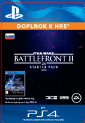 ESD SK PS4 - STAR WARS™ Battlefront™ II Starter Pack  (Av. 14.11.2017) (Kód na stiahnutie) PS4