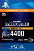 ESD SK PS4 - STAR WARS™ Battlefront™ II: 4400 Crystals (Av. 14.11.2017) (Kód na stiahnutie)