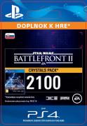 ESD SK PS4 - STAR WARS™ Battlefront™ II: 2100 Crystals (Av. 14.11.2017) (Kód na stiahnutie)