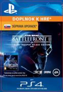 ESD SK PS4 - STAR WARS™ Battlefront™ II: Deluxe - Upgrade (Av. 17.11.2017) (Kód na stiahnutie) PS4