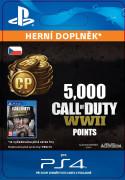 ESD SK PS4 - 5,000 Call of Duty®: WWII Points (Av.22.11.2017) (Kód na stiahnutie)