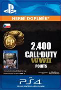 ESD SK PS4 - 2,400 Call of Duty®: WWII Points (Av.22.11.2017) (Kód na stiahnutie)
