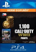 ESD SK PS4 - 1,100 Call of Duty®: WWII Points (Av.22.11.2017) (Kód na stiahnutie)
