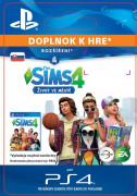 ESD SK PS4 - The Sims™ 4 City Living (Kód na stiahnutie)