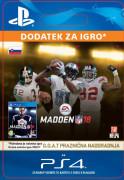 ESD SK PS4 - MADDEN NFL 18: G.O.A.T. Holiday Upgrade (Kód na stiahnutie)