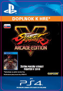 ESD SK PS4 - STREET FIGHTER V Season 3 Character Pass (16.1.2018) (Kód na stiahnutie) PS4