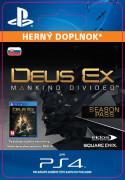 ESD SK PS4 - Deus Ex: Mankind Divided - Season Pass (Kód na stiahnutie)
