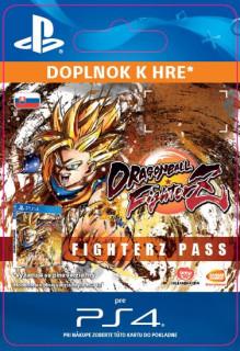 ESD SK PS4 - DRAGON BALL FIGHTERZ - FighterZ Pass 26.1.2018 (Kód na stiahnutie) PS4