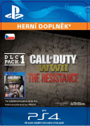ESD SK PS4 - Call of Duty®: WWII - The Resistance: DLC Pack 1 (30.1.2018) (Kód na stiahnutie)