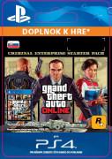 ESD SK PS4 - GTA Online: Criminal Enterprise Starter Pack (Kód na stiahnutie)