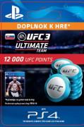 ESD SK PS4 - EA SPORTS™ UFC® 3 - 12000 UFC POINTS (Kód na stiahnutie) PS4