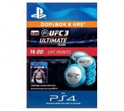 ESD SK PS4 - EA SPORTS™ UFC® 3 - 1600 UFC POINTS (Kód na stiahnutie)