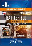 ESD SK PS4 - Battlefield™ Hardline Criminal Activity (Kód na stiahnutie) PS4