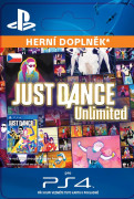 ESD SK PS4 - Just Dance Unlimited - 12 months pass (Kód na stiahnutie) PS4