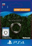 ESD SK PS4 - The Elder Scrolls® Online: Summerset™ Upgrade (Kód na stiahnutie) PS4
