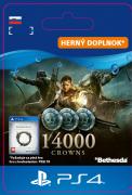 ESD SK PS4 - The Elder Scrolls® Online: 14000 Crowns (Kód na stiahnutie)