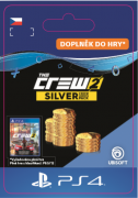 ESD SK PS4 - The Crew 2 Silver Crew Credits Pack (Kód na stiahnutie)