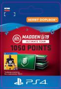 ESD SK PS4 - Madden NFL 19 Ultimate Team 1050 Points Pack (Kód na stiahnutie)