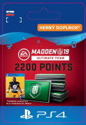 ESD SK PS4 - Madden NFL 19 Ultimate Team 2200 Points Pack (Kód na stiahnutie)