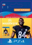ESD SK PS4 - Madden NFL 19 Ultimate Team Starter Pack (Kód na stiahnutie)