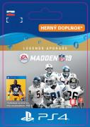 ESD SK PS4 - Madden NFL 19 Legends Upgrade (Kód na stiahnutie)