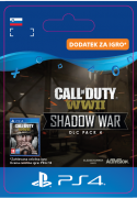 ESD SK PS4 -  COD:WWII-Shadow War:DLC Pack4 (Kód na stiahnutie)