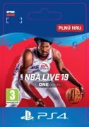 ESD SK PS4 -  NBA LIVE 19: THE ONE EDITION (Kód na stiahnutie) PS4