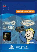 ESD SK PS4 - Fallout 76: 500 Atoms (Kód na stiahnutie) PS4