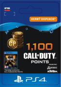ESD SK PS4 - 1,100 Call of Duty®: Black Ops4Points (Kód na stiahnutie)