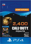ESD SK PS4 - 2,400 Call of Duty®: Black Ops4Points (Kód na stiahnutie)