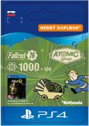 ESD SK PS4 - Fallout 76: 1000 (+100 Bonus) Atoms (Kód na stiahnutie) PS4