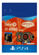 ESD SK PS4 - Fallout 76: 4000 (+1000 Bonus) Atoms (Kód na stiahnutie)