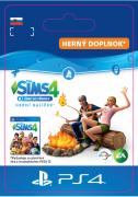 ESD SK PS4 - The Sims™ 4 Outdoor Retreat (Kód na stiahnutie)