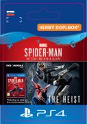 ESD SK PS4 - Marvel's Spider-Man: The Heist (Kód na stiahnutie) PS4