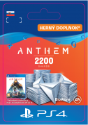 ESD SK PS4 - Anthem™ 2200 Shards Pack (Kód na stiahnutie)