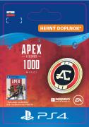 ESD SK PS4 - Apex Legends™ – 1,000 Apex Coins (Kód na stiahnutie)