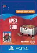 ESD SK PS4 - Apex Legends 6,000+700 BonusApexCoins (Kód na stiahnutie)