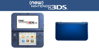 New Nintendo 3DS XL (metal blue) 3DS