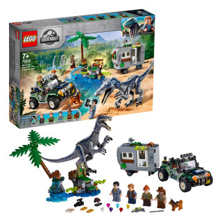 LEGO Jurassic World  Stretnutie s baryonyxom: Hon za pokladom (75935) Darčeky
