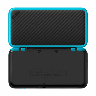 New Nintendo 2DS XL (Black-Turqouise) 3DS